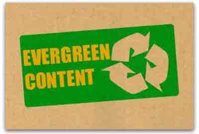 qué es el contenido Evergreen