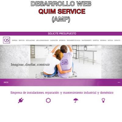 desarrollo web quim service
