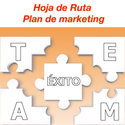 hoja de ruta para un plan de marketing