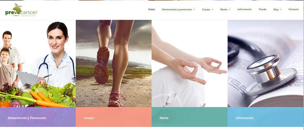 nuevo diseño web prevecancer