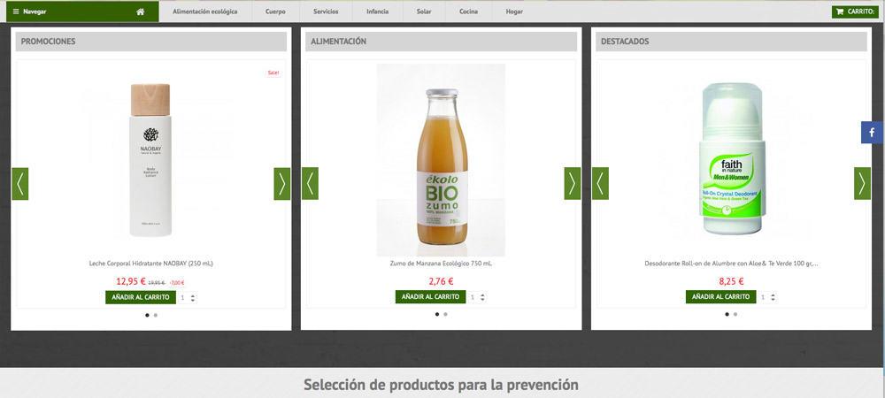 nuevo diseño web tienda online prevecancer