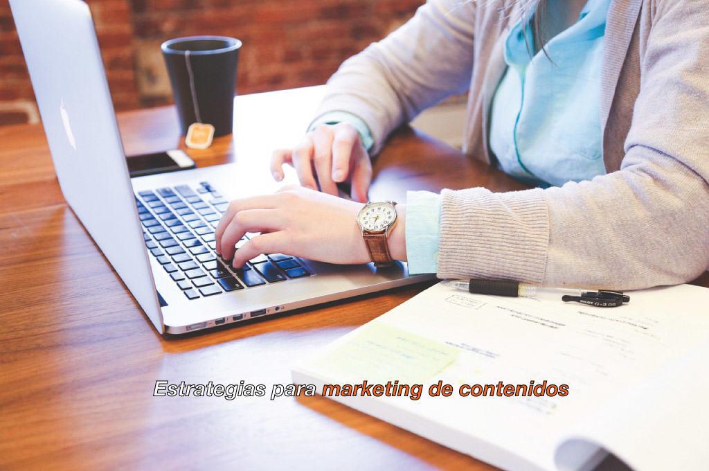 estrategia para marketing de contenidos