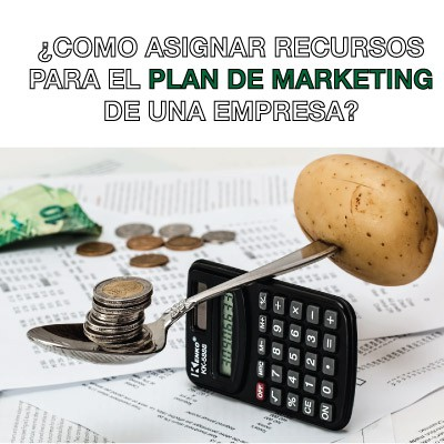 presupuesto para el plan de marketing de una empresa