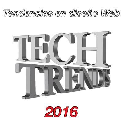 tendencias en diseño de páginas web en 2016