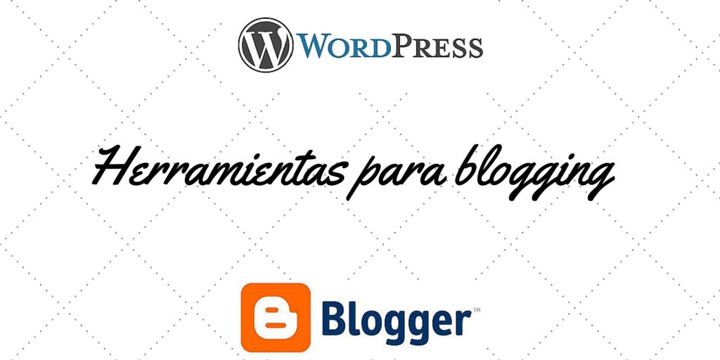 herramientas para Blogging