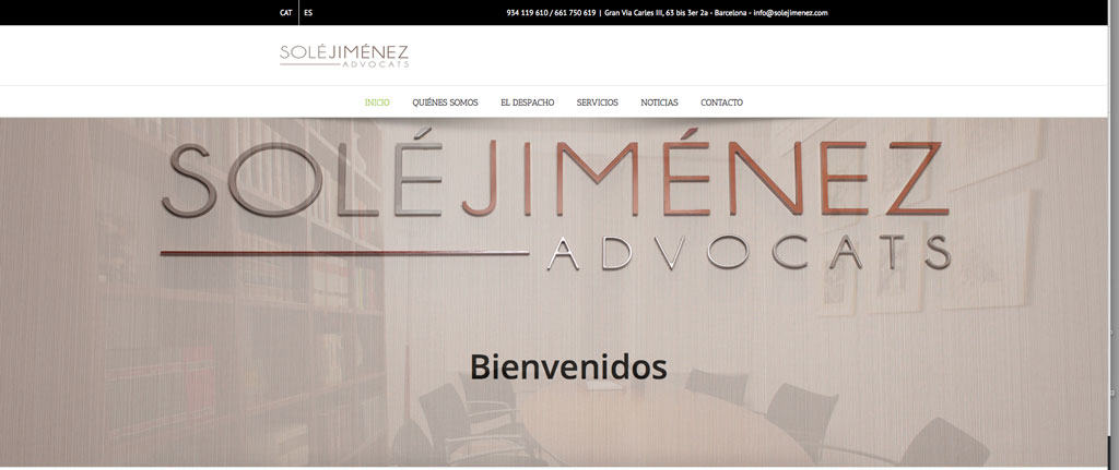 diseño web corporativo Barcelona