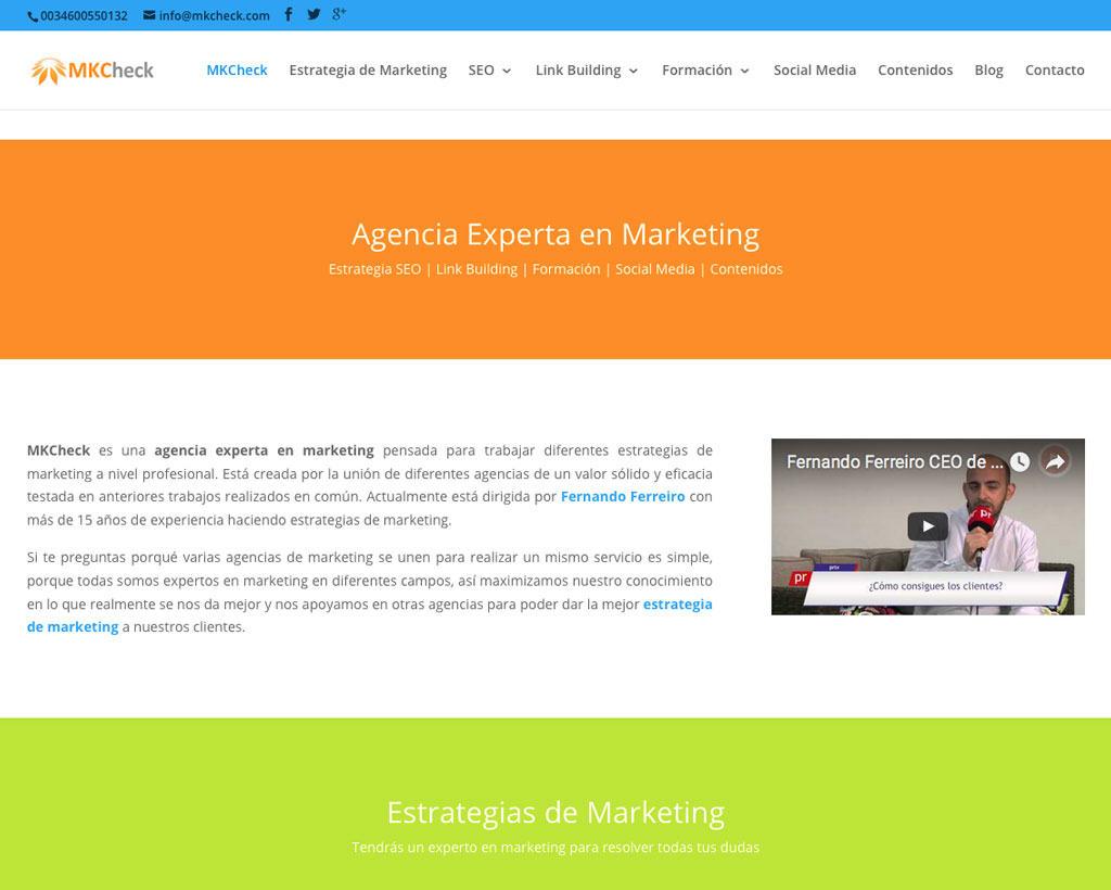 optimización web mkchek