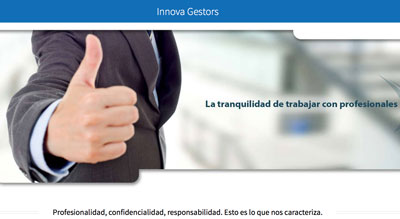 Diseño web Innova Gestors Andorra