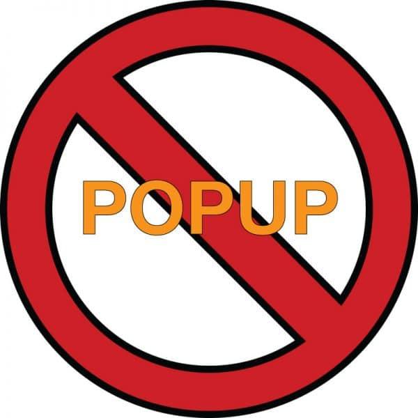Penalización Interstitials y Popups