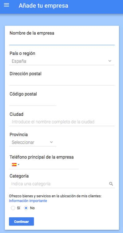 Google My Business SEO Local