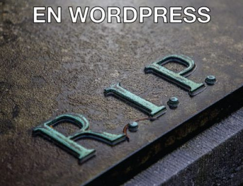 Pantalla Blanca en WordPress